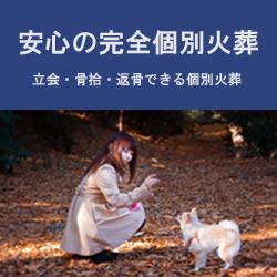 安心の完全個別火葬なら埼玉県ペット火葬の優眠へ